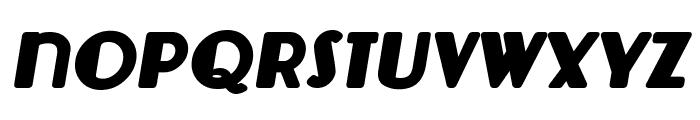 Lemondrop Bold Italic Font LOWERCASE