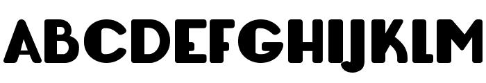 Lemondrop Bold Font UPPERCASE