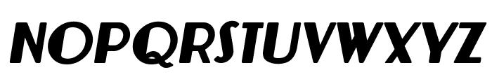 Lemondrop Italic Font UPPERCASE