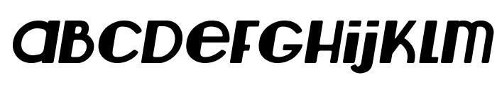Lemondrop Italic Font LOWERCASE