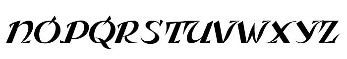 Leningradka Kursiv Font LOWERCASE