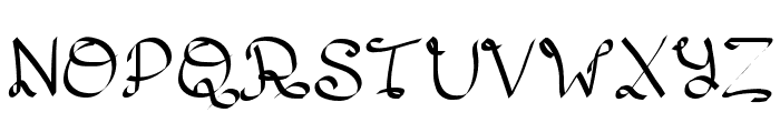 Lento Font UPPERCASE