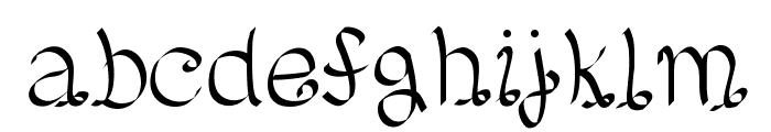Lento Font LOWERCASE