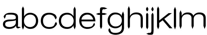 Leo Arrow Sans Serif Font LOWERCASE