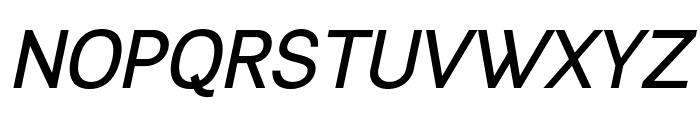 Leon Bold Italic Font UPPERCASE