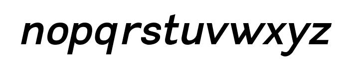 Leon Bold Italic Font LOWERCASE