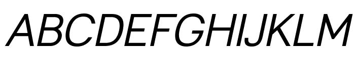 Leon-Italic Font UPPERCASE