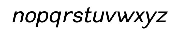Leon-Italic Font LOWERCASE