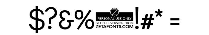 Leon-Regular Font OTHER CHARS