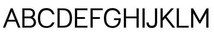 Leon-Regular Font UPPERCASE