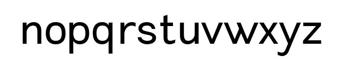 Leon-Regular Font LOWERCASE
