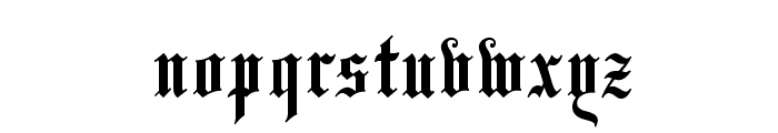 LeonTextOpti-Solid Font LOWERCASE