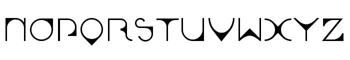 Leonardian-Sample Font UPPERCASE