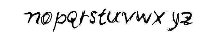 Leonards Font LOWERCASE