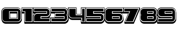 Leprosy 3D Filled Regular Font OTHER CHARS