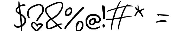Leronah Font OTHER CHARS