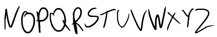 Leronah Font UPPERCASE