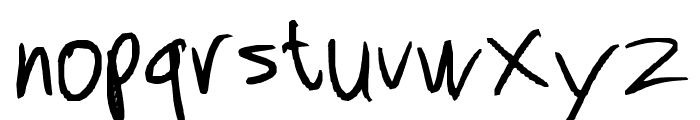 Leronah Font LOWERCASE