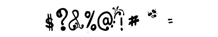 Les oeufs de Cassowary Font OTHER CHARS