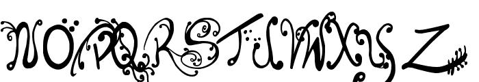 Les oeufs de Cassowary Font UPPERCASE