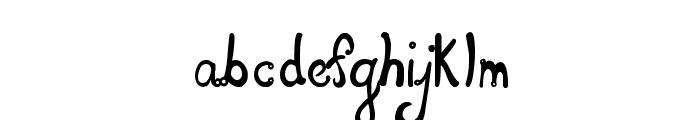 Les oeufs de Cassowary Font LOWERCASE