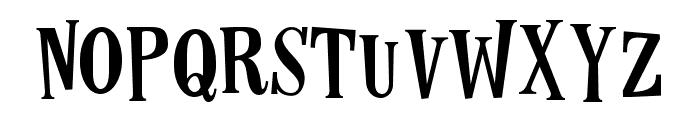 LesPaul-Normal Font LOWERCASE
