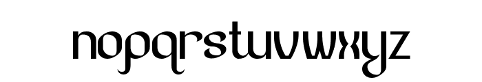Lesser Concern Font LOWERCASE