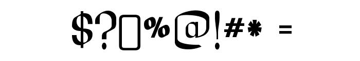 LesserConcern-Regular Font OTHER CHARS