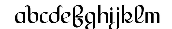 LesserConcern-Regular Font LOWERCASE