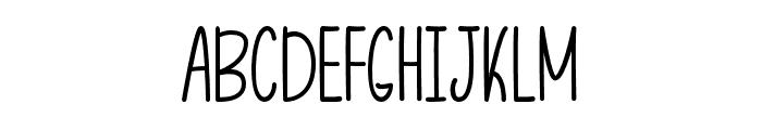 LetThatBeEnough Font UPPERCASE