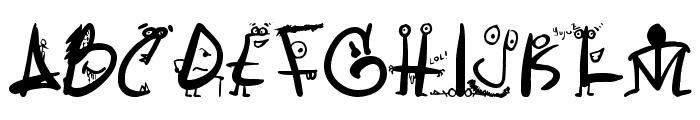 LetrasLocas Font UPPERCASE