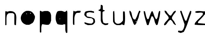 Letrograda Font LOWERCASE
