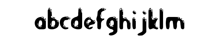Let's Eat Font LOWERCASE