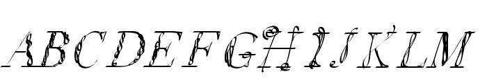 LetsDoBrunch Font UPPERCASE