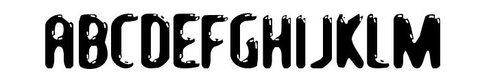 LetsEat-Regular Font UPPERCASE