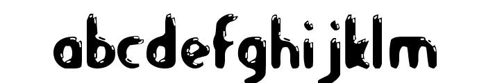 LetsEat-Regular Font LOWERCASE