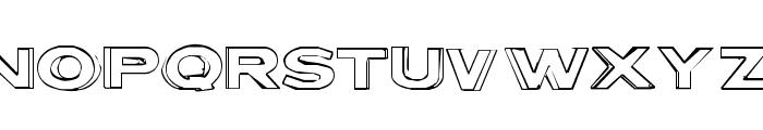 Letter Set B Font UPPERCASE