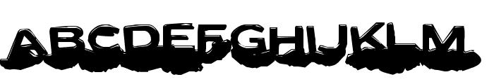 Letter Set C Font LOWERCASE
