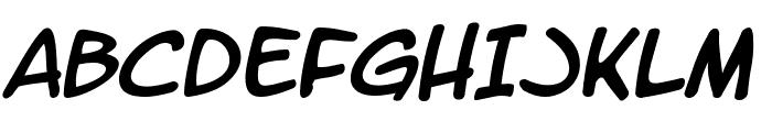 LetterOMatic! Italic Font UPPERCASE