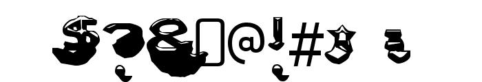 LetterSetC-Regular Font OTHER CHARS
