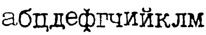 LetteraTrentadue Translit Font LOWERCASE