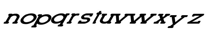 Lettering Set New Italic Font LOWERCASE