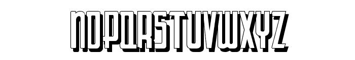 LetteringDecoShadow Font UPPERCASE