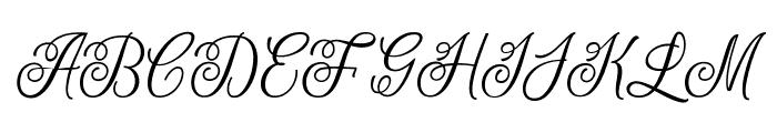 LetterlineDemo Font UPPERCASE