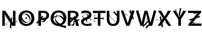 Lettersoup Font UPPERCASE