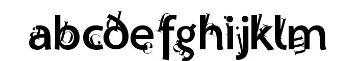 Lettersoup Font LOWERCASE