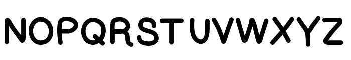 Lettregaelle Font UPPERCASE