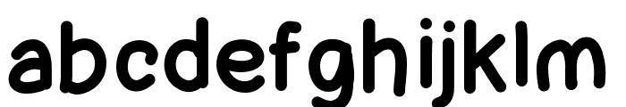 Lettregaelle Font LOWERCASE