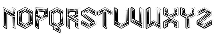 Level 01 Bold Font LOWERCASE
