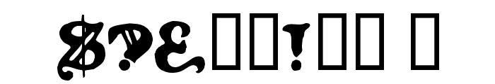 LevelFourteenDruid Font OTHER CHARS